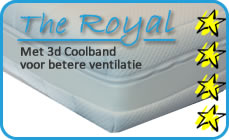 The Royal matrashoes boxspring